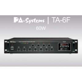 PA-SYSTEMS TA-6F 100V-60W