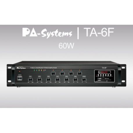 PA-SYSTEMS TA-6F