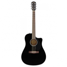 FENDER CD60SCE-Black