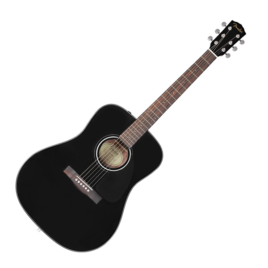 FENDER CD-60SBLK Solid Top